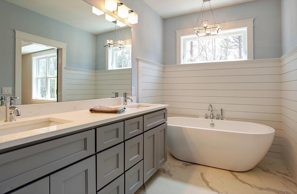 Blue Studio Kitchen Cabinets Counters