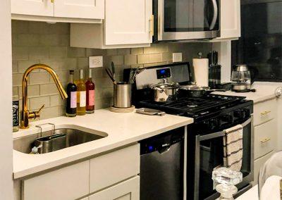 BlueStudio-Kitchen-White-Cabinets-Gold-Handles-Hardware-Faucet-Remodel